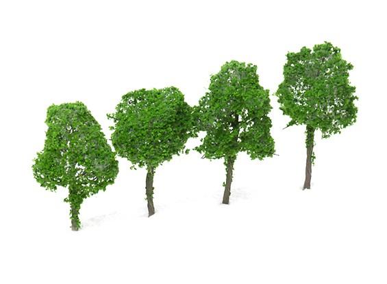 HobbyKing™ 70mm Scenic Wire Model Trees (4 pcs)