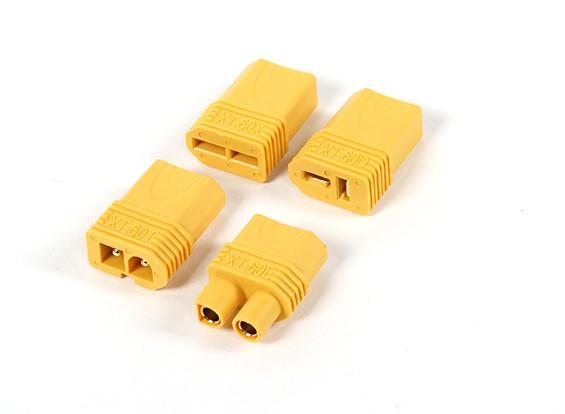 ナイロンXT60マルチプラグアダプターセット(T-コネクタ/ EC3 /互換性/タミヤ)