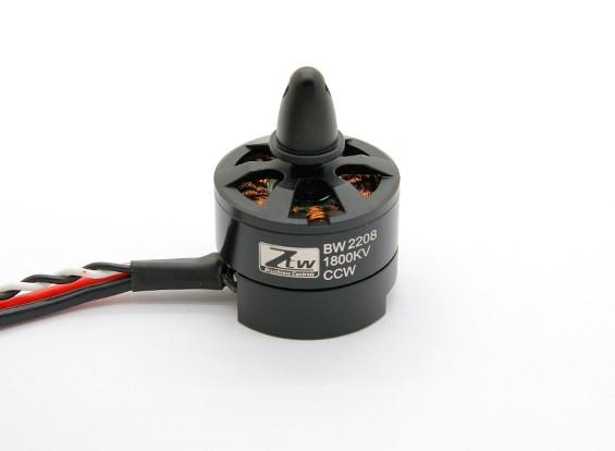 SCRATCH/DENT - Black Widow  2208 1800KV With Built-In ESC CCW