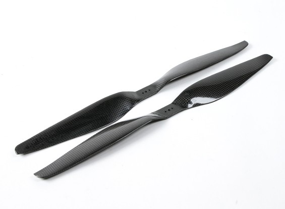 SCRATCH/DENT - Dynam 17x5.5 Carbon Fiber Propellers for Multirotors (CW and CCW) (1pair)