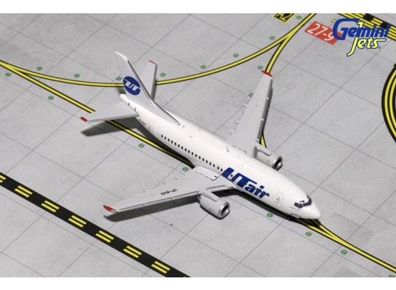 Gemini Jets Utair Boeing 737-500 VP-BVN 1:400 Diecast Model GJUTA1582