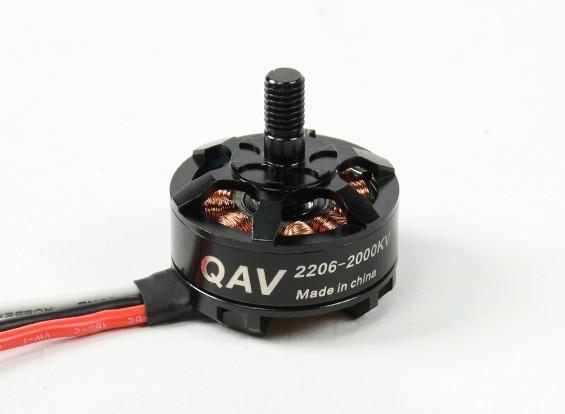QAV RT2206-2000KVクワッドレーシングモーター(CW)