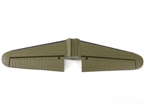 Hobbyking 1875ミリメートルB-17 F / Gフライングフォートレス(V2)(オリーブ)交換水平尾翼