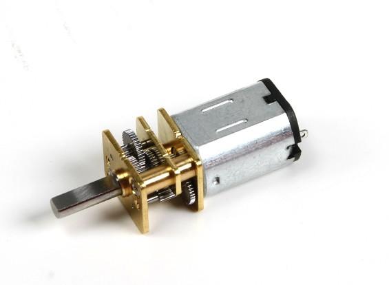 ブラシ付きモータ15ミリメートル6V 20000KV 100 /ワット:1レシオギアボックス
