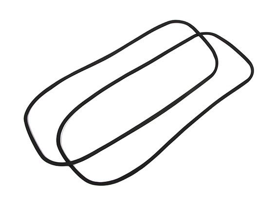 H-キングマリン執拗V2レーシングボートの交換防水ゴムパッキン(2個)