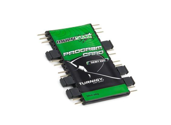 Turnigy MultiStarの32Bit ESCプログラムカード