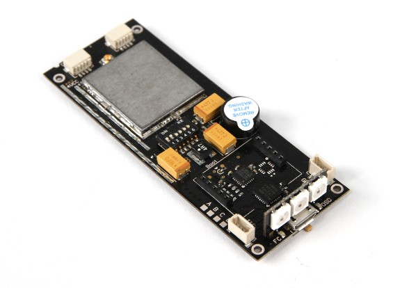 OSD、ブザー、VTXとPDBとのフタバRX SFHSSとOversky MUL Aフライトコントローラー