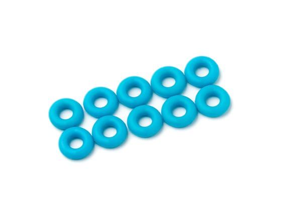 Oリングキット3ミリメートル(ネオンブルー)(10個入り/袋)