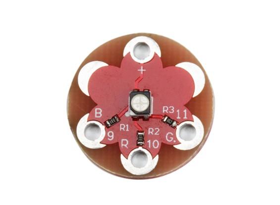 キースウェアラブルフルカラー3528 RGB LEDモジュール