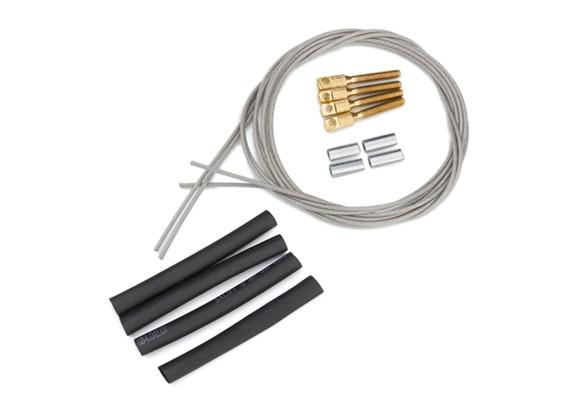 プル/スチールワイヤーコントロールセットを引いて -  1.3ミリメートル