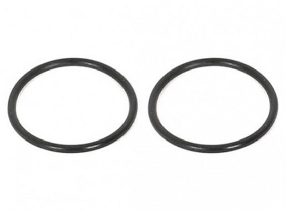 ARC R11 1/10電動ツーリングカー - デフケース用Oリング26x1mm(2個)