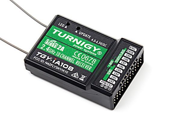 PPM /のSBusワットTurnigy iA10Bレシーバー10CH 2.4G AFHDS 2Aテレメトリーレシーバー