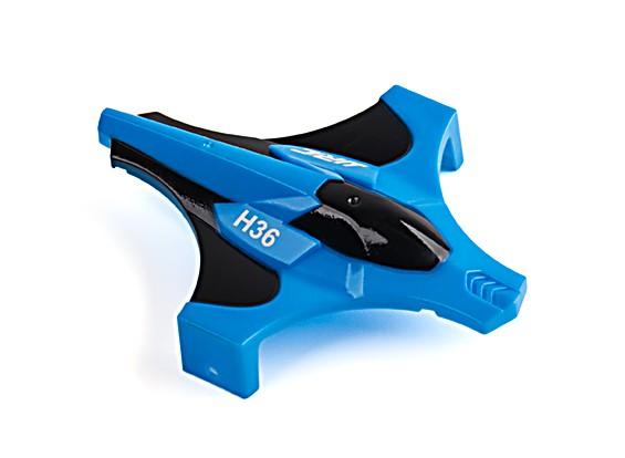 JJRC H36 Blue Wren Drone - Body Shell (Blue)