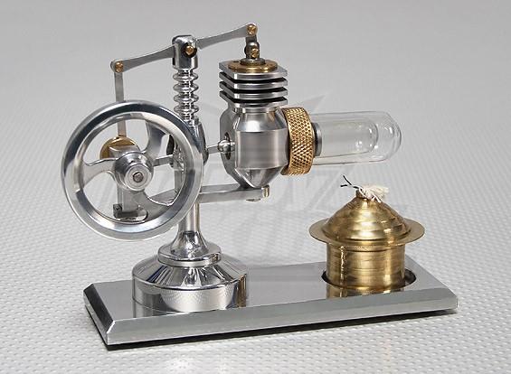 アルファタイプ2ピストンスターリングエンジン