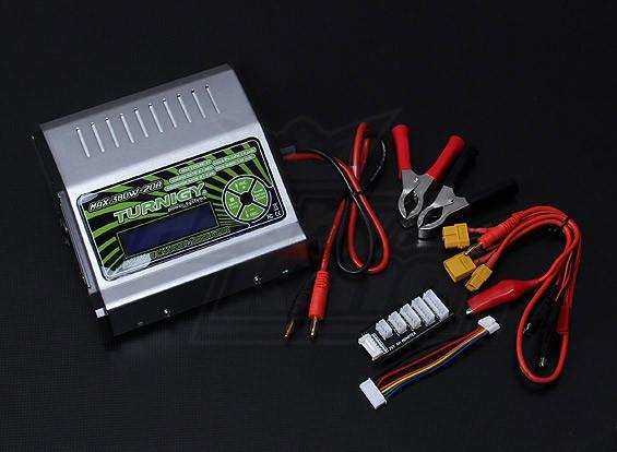 TURNIGYのMEGA 380Wリチウムポリマー・バッテリ・チャージャ