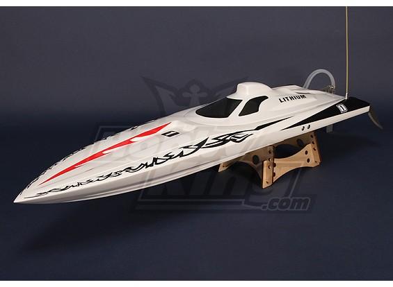 モーター&ハードウェア/ワットオスプレイブラシレスVハルR / Cボート(1075ミリメートル)ハル