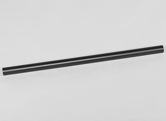 カーボンファイバーラウンドチューブ450x22x20mm