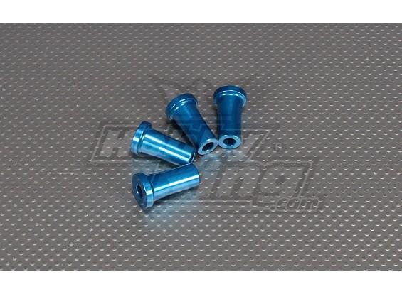 CNCインチスタンドオフ30ミリメートル(M6,1 / 4 20)ブルー