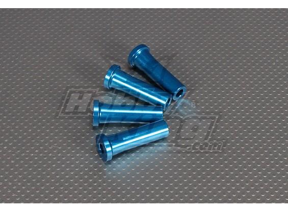 CNCインチスタンドオフ45ミリメートル(M6,1 / 4 20)ブルー