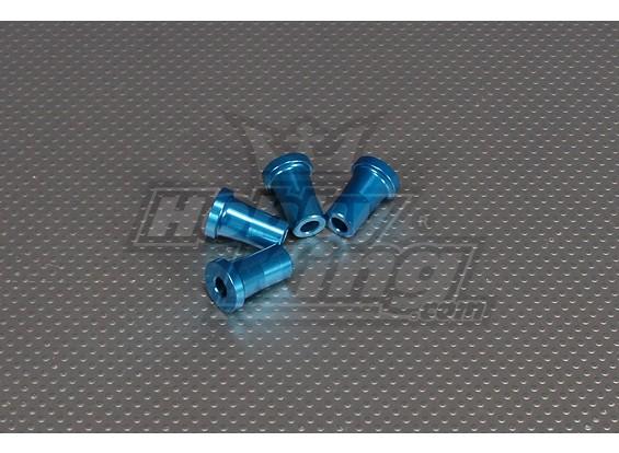 CNCスタンドオフ25ミリメートル(M6,1 / 4 20)ブルー