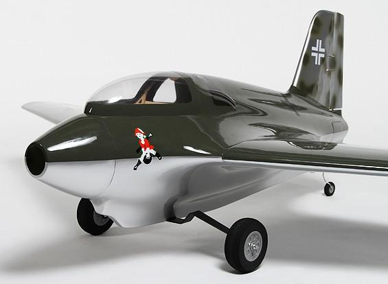 Messerchmittミー163Bフライングウィングコンポジット1540ミリメートル(ARF)