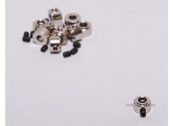 ランディングギアホイールストップセットカラーの9x4.1mm(10個入り)