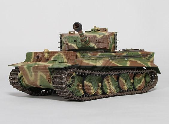 タイガーI後期型赤外線バトルタンク -  1/24日スケール