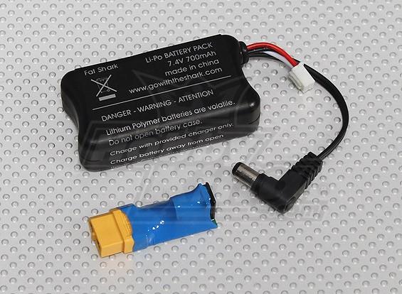 Fatshark FPV  - ヘッドセットバッテリー7.4Vの700mah