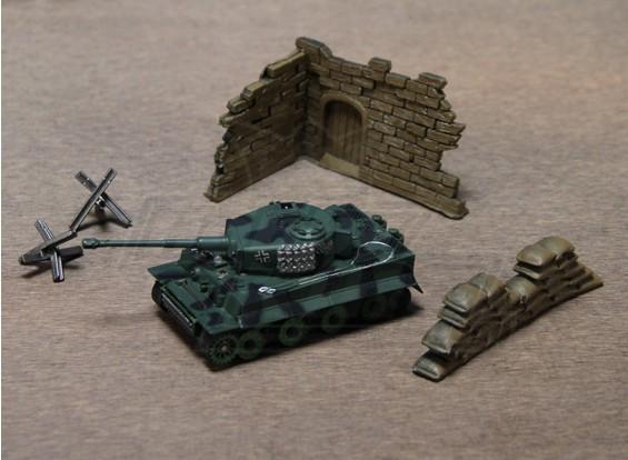 1:70スケールRCタイガー戦車(RTR)