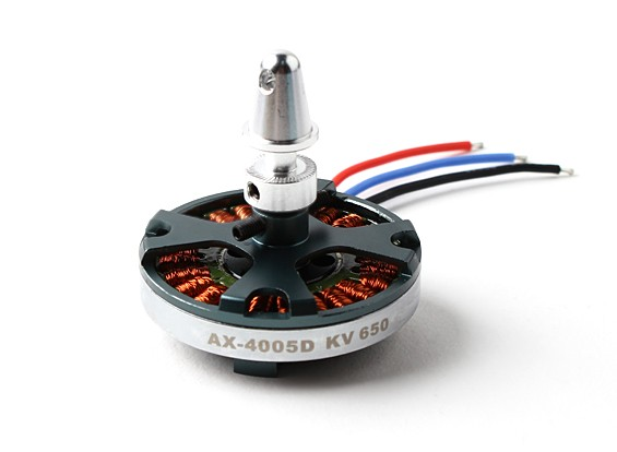 AX-4005-650kvブラシレスクワッドローターモーター