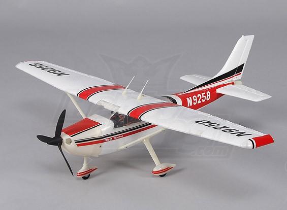マイクロ182軽飛行機の550ミリメートルワット/ 2.4GHzのTX(モード2)充電器/ Lipoly(RTF)