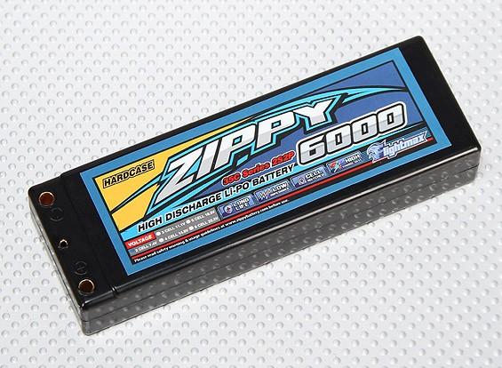 ジッピー6000mah 2S2P 35Cハードケースパック