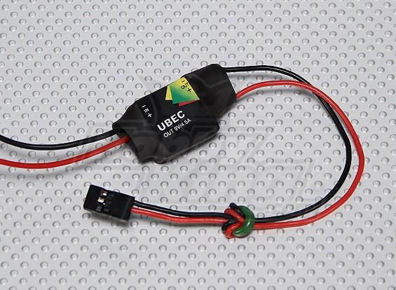 9V 4.5A UBEC 2-5S Lipoly(6-23v)