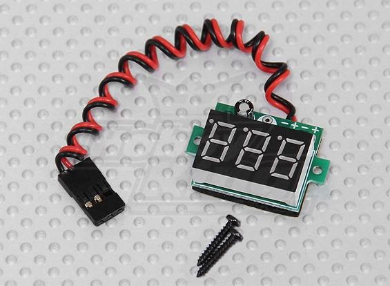 Lipoly&ライフバッテリー用LED RX電圧インジケータ