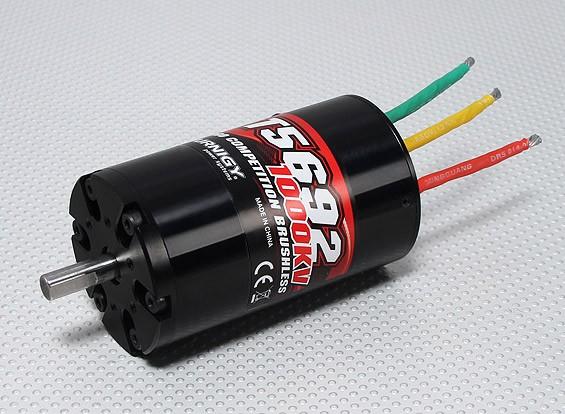 T5692 TurnigyプロコンプブラシレスInrunnerモーター1000kv