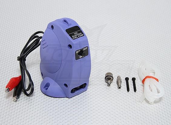 ニトロモデルの12V電動燃料ポンプ