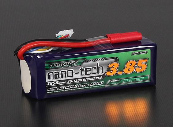 Turnigyナノテクノロジー3850mah 5S 65〜130℃リポパック