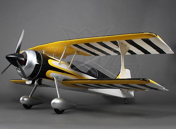ピッツ12 EPO 1600ミリメートルワット/ブラシレスモーター&サーボ(ARF)(イエロー/ブラック)
