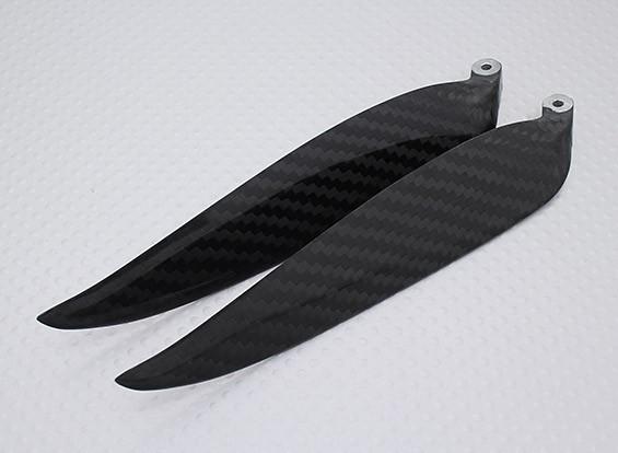 折りたたみカーボンファイバープロペラ13x6.5(1個)