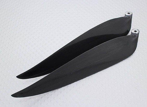 折りたたみカーボンフューズプロペラ13x6.5ブラック(CCW)(1個)