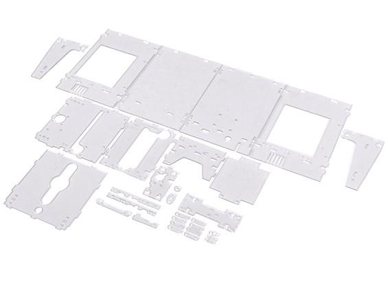TurnigyミニFabrikator 3Dプリンタv1.0のスペアパーツ - 透明なハウジング