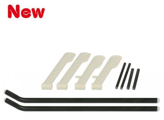 GAUI MD500ランディングギアセットホワイト(203779)
