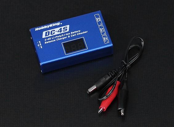 Hobbyking®DC-4Sバランス充電器&電池チェッカー30ワット2秒〜4秒