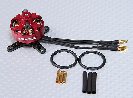 HD2613-1900KV屋内/プロフィール/ F3Pアウトランナーモーター