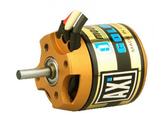 AXI 12分の2217 GOLDのLINEブラシレスモーター