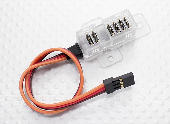 XGシリーズ2.4GHzのDMSSトランスミッタ用のJR TLS1-ADPテレメトリーセンサーアダプター