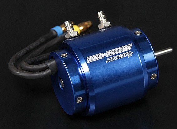 Turnigy AquaStar 3650-3500KV水はブラシレスモーターを冷却しました