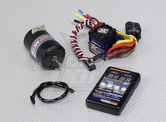 Hobbyking X-カーブラシレスパワーシステム4000KV / 60A