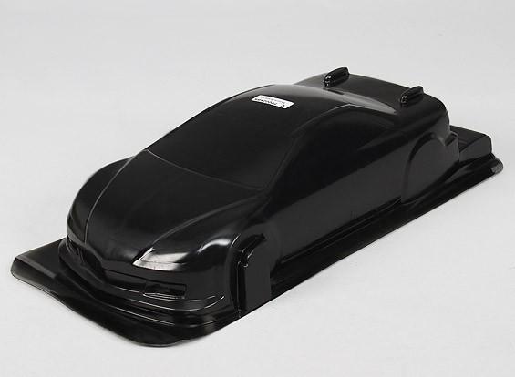 /デカールワット1/10 CR-6Rボディシェル(ブラック)
