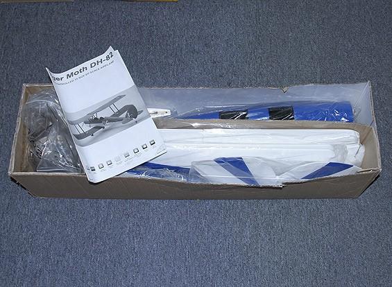 SCRATCH / DENT Hobbyking DH-82タイガーモス1250ミリメートルバルサ(ARF)